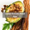 Loaded Avocado Baked Eggs