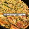 Ham-Asparagus Egg Bake