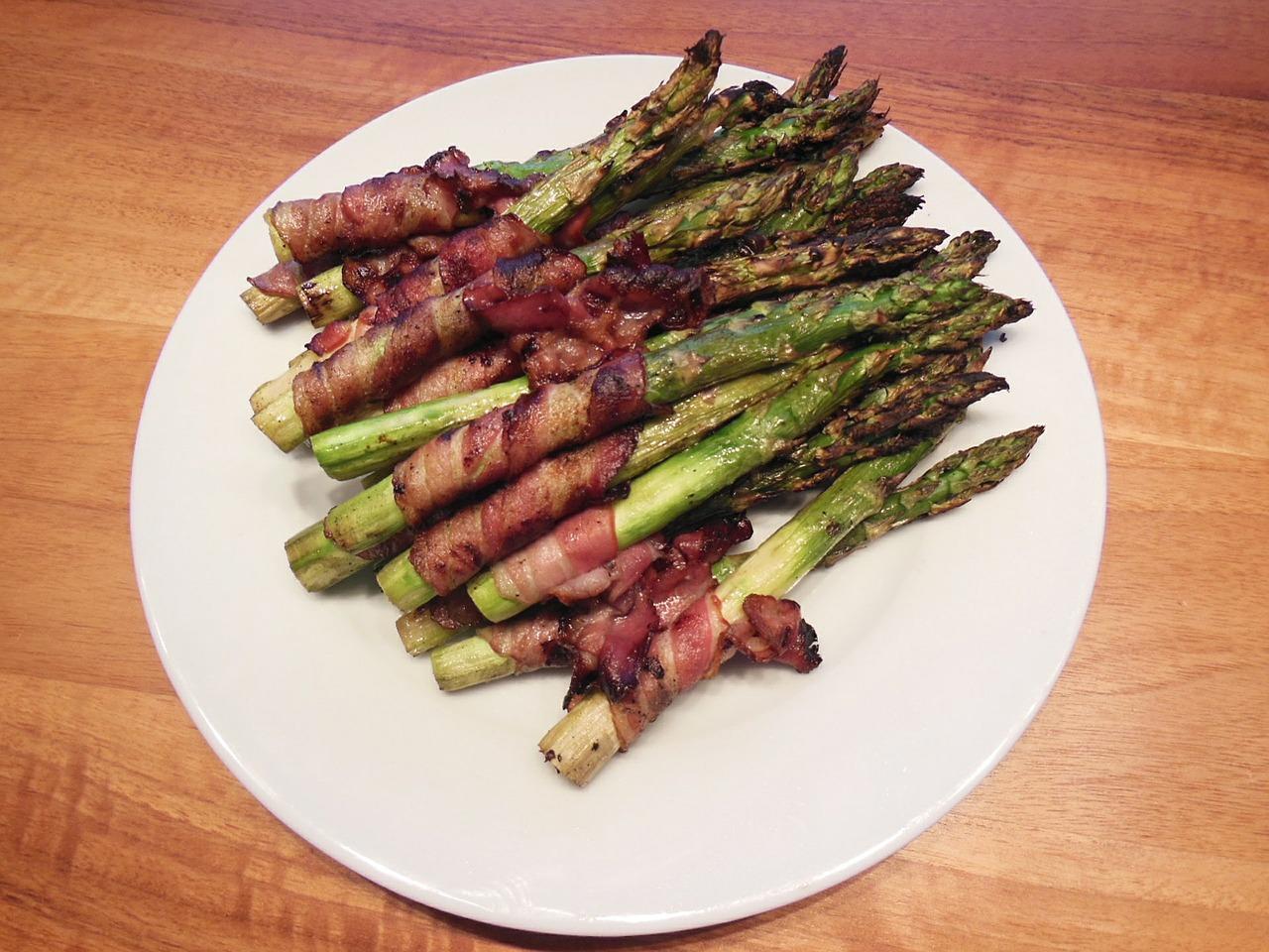 asparagus bacon wrap