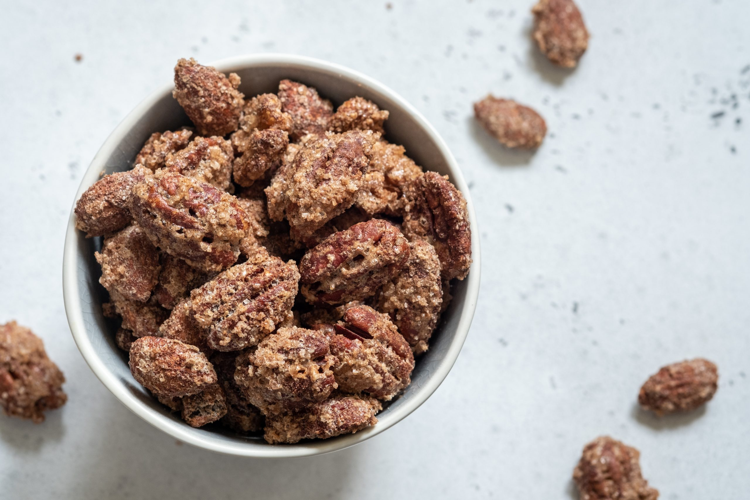 SUGAR FREE CANDIED ALMONDS WALNUTS AND PECANS