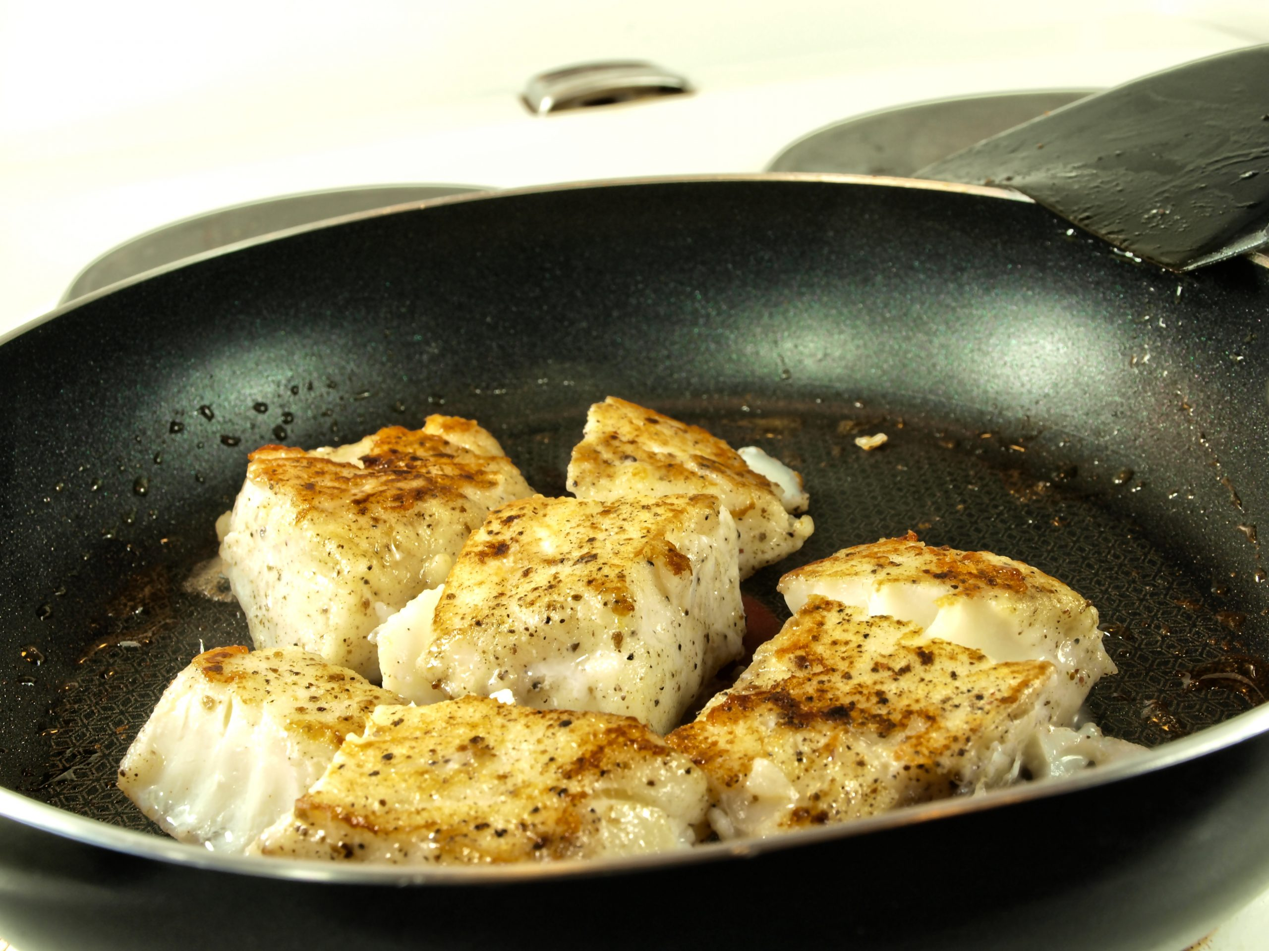 BUTTERED COD FILETS