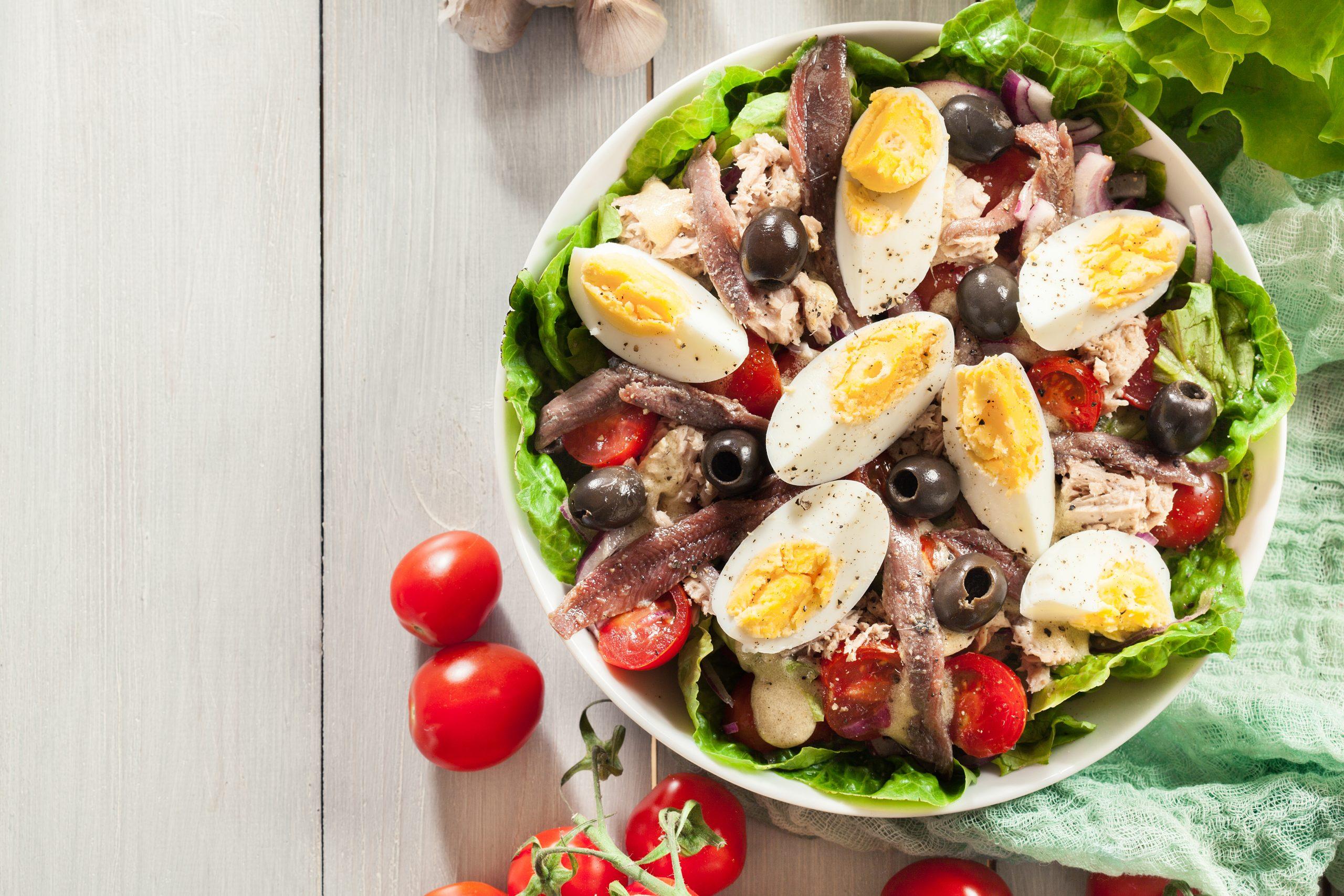 Keto Salad Nicoise