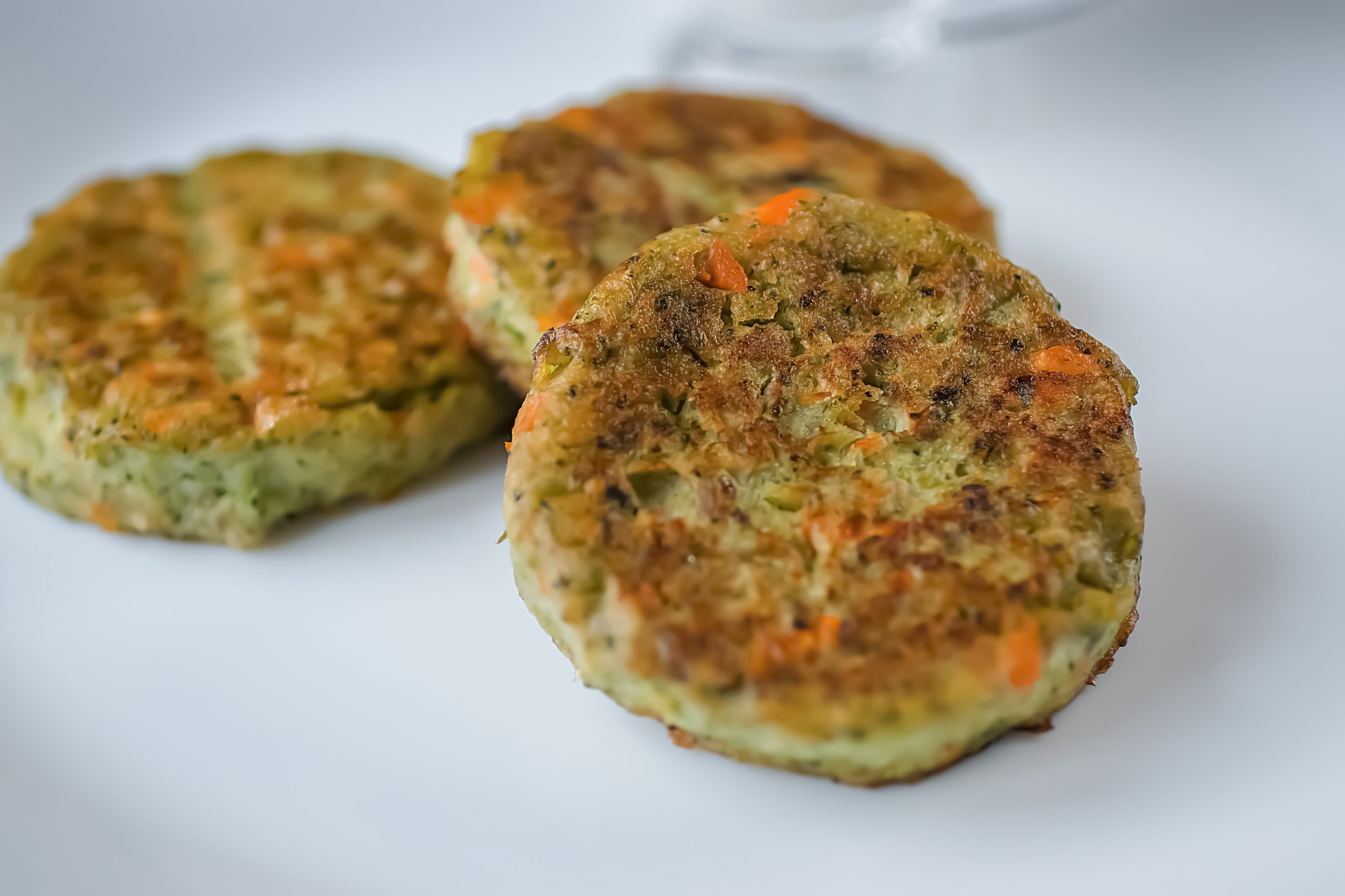 Three Cheese Zucchini Patties