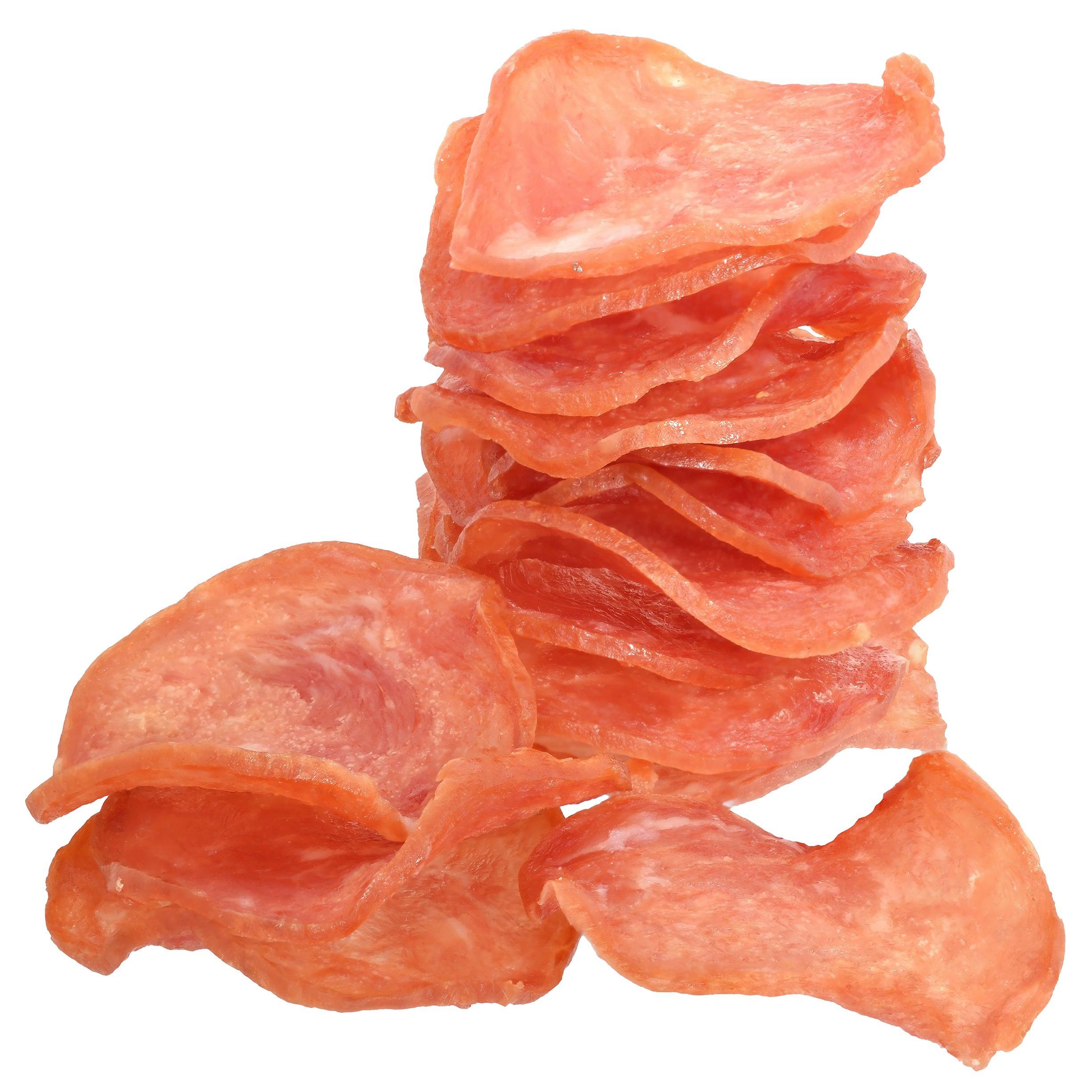 Keto Salami Chips