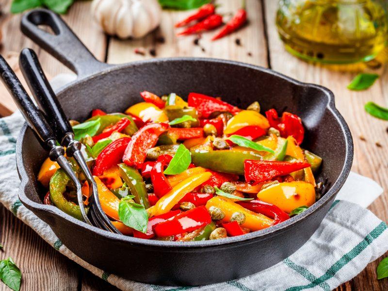 Keto Italian Bell Peppers