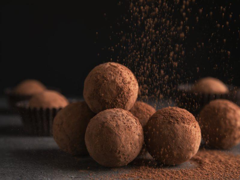 Keto Rum Chocolate Truffles