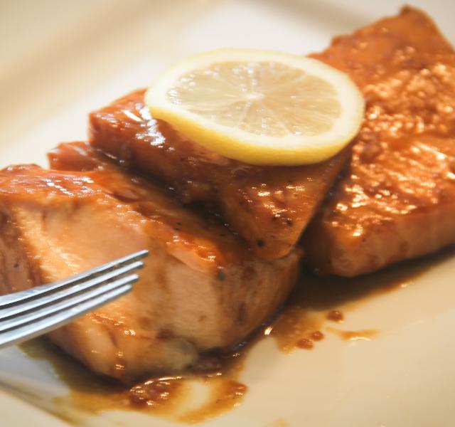Keto Glazed Salmon